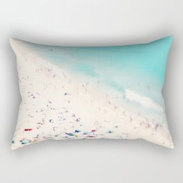 beach love III square Rectangular Pillow