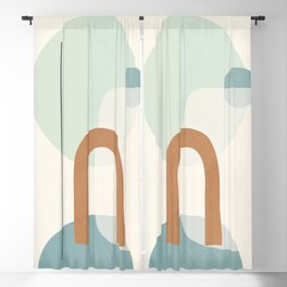 Azzurro Shapes No.55 Blackout Curtain