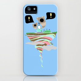 Dreaming for an adventure. iPhone Case