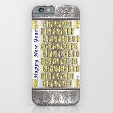 Happy New Year Slim Case iPhone 6s