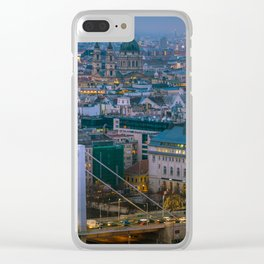 Evening view Clear iPhone Case