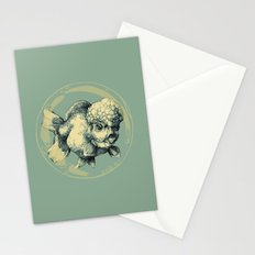 Bubble Head Fish Stationery Cards