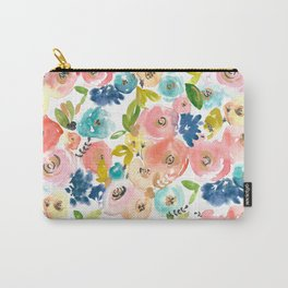 Floral POP #1 Carry-All Pouch