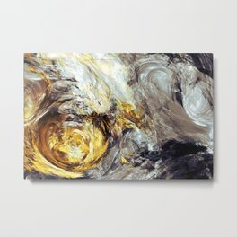 Beatiful Chaos Metal Print