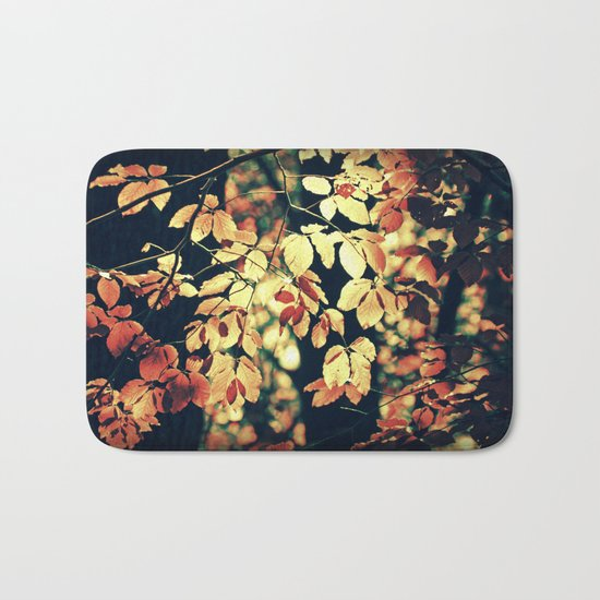 Autumnally Bath Mat