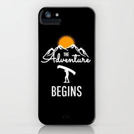 The Adventure Begins - KPAK3H iPhone Case