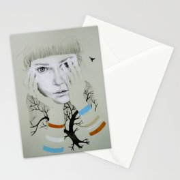 She, Tree Stationery Cards