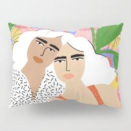 Bonding Over Plants Pillow Sham