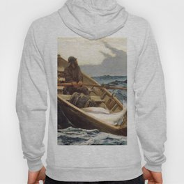 Winslow Homer1 - The Fog Warning, Halibut Fishing - Digital Remastered Edition Hoody