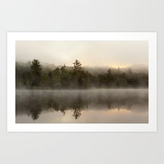 misty reflections Art Print