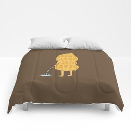 Peenut (brown) Comforters