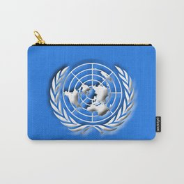 United Nations 3D Flag Carry-All Pouch