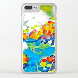 Splashes Of Color Rio de Janeiro by CheyAnne Sexton Clear iPhone Case