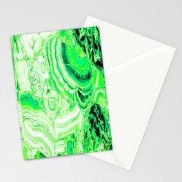 Malachite Green Stationery Cards