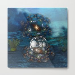 Oyster Bed Metal Print