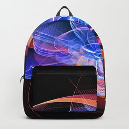 Swirl Abstraction Backpack