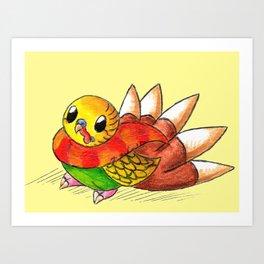 Turkeet Art Print
