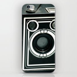 Vintage 1940's Sears S-20 Box Camera Photography  iPhone Skin