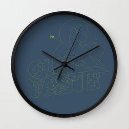 Cut & Paste Wall Clock