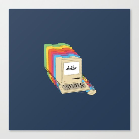 Macintosh Cascade Canvas Print