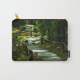 Moss gardern path Carry-All Pouch