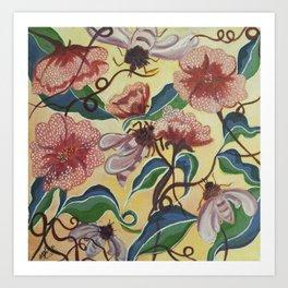 Floral-Musings-3 Art Print