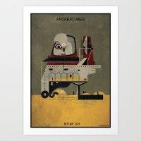 019_ARCREATURES-01 Art Print