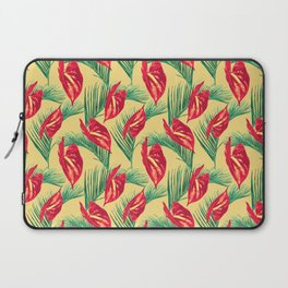 Pop Tropical Leaves Seamless Pattern Series 3 Laptop Sleeve
