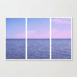 At Sea Canvas Print