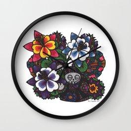 Fear & Trembling (Botanical Bliss) Wall Clock