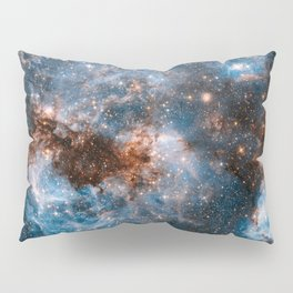 Into The Storm, Galaxy Background, Universe Large Print, Space Wall Art Decor, Deep Space Poster Pillow Sham