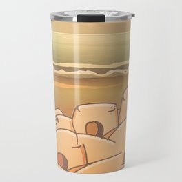 Beached Labyrinth Travel Mug