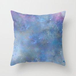 Cold Sky Throw Pillow