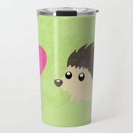 Hedgehog Love Travel Mug