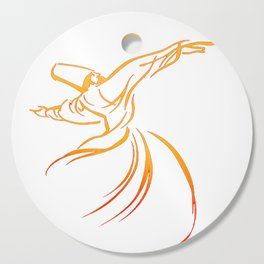 Sema The Dance Of The Whirling Dervish Cutting Board