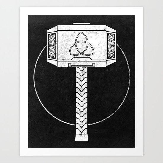 THOR! Art Print