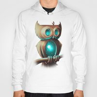 owl Hoodies featuring Night Owl by Chump Magic