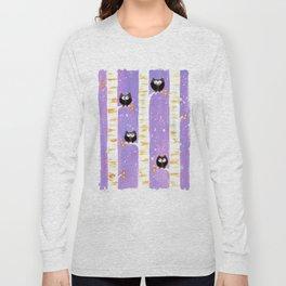 Four Owls Long Sleeve T-shirt