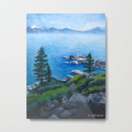 Lake Tahoe Lake of the Sky Metal Print