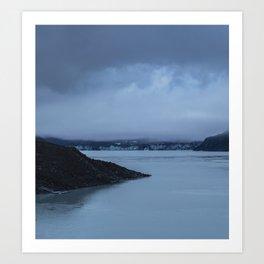 Nature Series - Tasman Glacier Lake Art Print