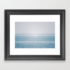 Shimmering Sea Framed Art Print
