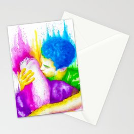 Divine Kiss Stationery Cards