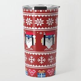Blue Lion Holiday Travel Mug