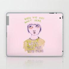 When the hurt wont heal Laptop & iPad Skin