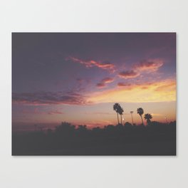 California Sunsets Canvas Print