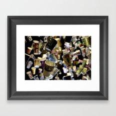 Flatiron Cups Framed Art Print