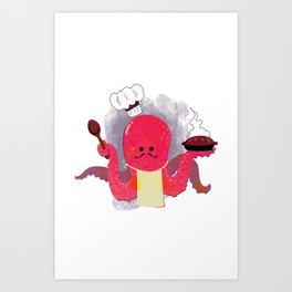 octocook Art Print