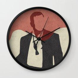 Casino Royale Minimalist Wall Clock