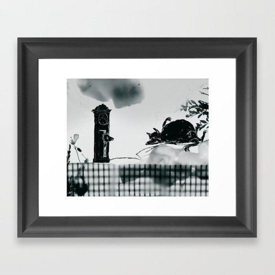 der wolf und die sieben geisslein Framed Art Print
