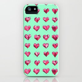 Heart of Stone 01 iPhone Case
